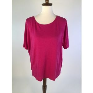 Eileen Fisher Womens Blouse Petite Large C51-07Z